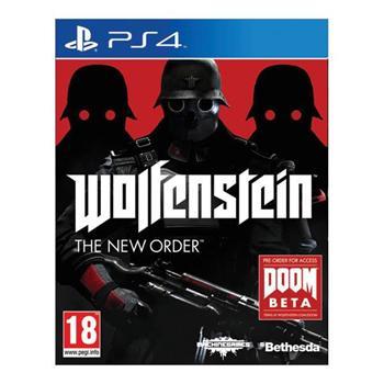Wolfenstein: The New Order [PS4] - BAZÁR (použitý tovar)
