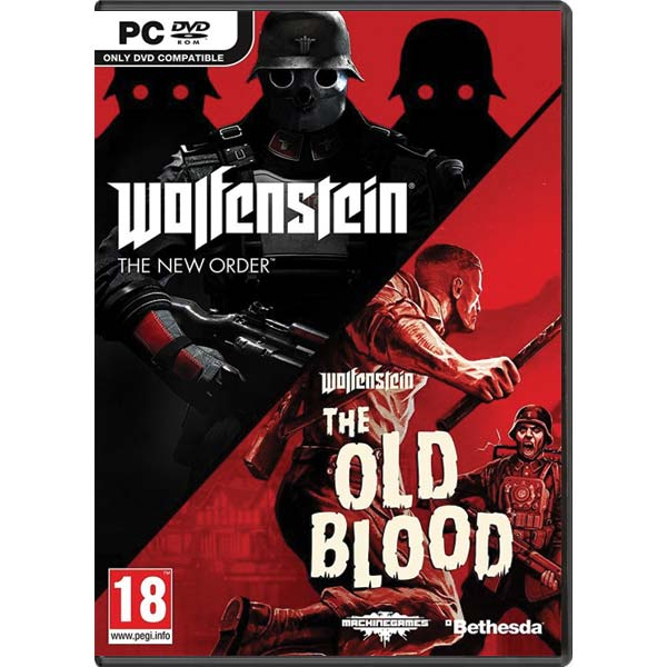Wolfenstein: The New Order + Wolfenstein: The Old Blood (Double Pack) PC CD-key