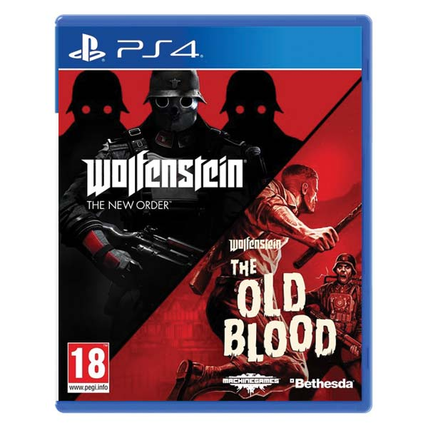 Wolfenstein: The New Order + Wolfenstein: The Old Blood (Double Pack) [PS4] - BAZÁR (použitý tovar)