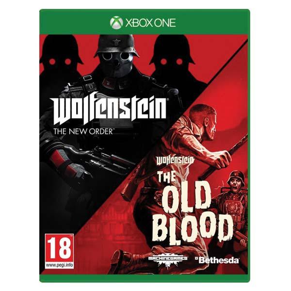 Wolfenstein: The New Order + Wolfenstein: The Old Blood (Double Pack) XBOX ONE