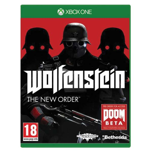 Wolfenstein: The New Order [XBOX ONE] - BAZ�R (pou�it� tovar)