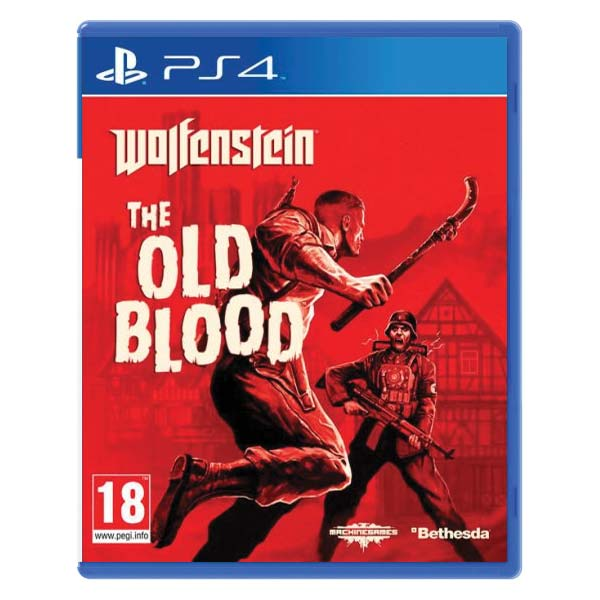 Wolfenstein: The Old Blood [PS4] - BAZÁR (použitý tovar)