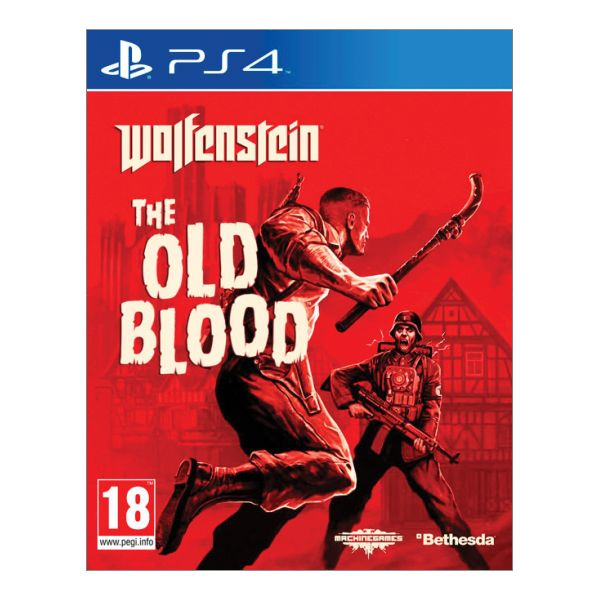 Wolfenstein: The Old Blood [PS4] - BAZ�R (pou�it� tovar)