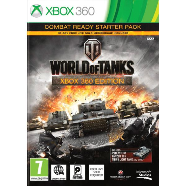 World of Tanks (Xbox 360 Edition Combat Ready Starter Pack)