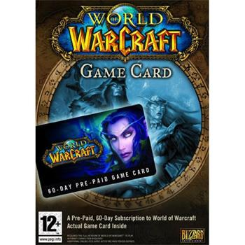 World of Warcraft Game Time Kup�n