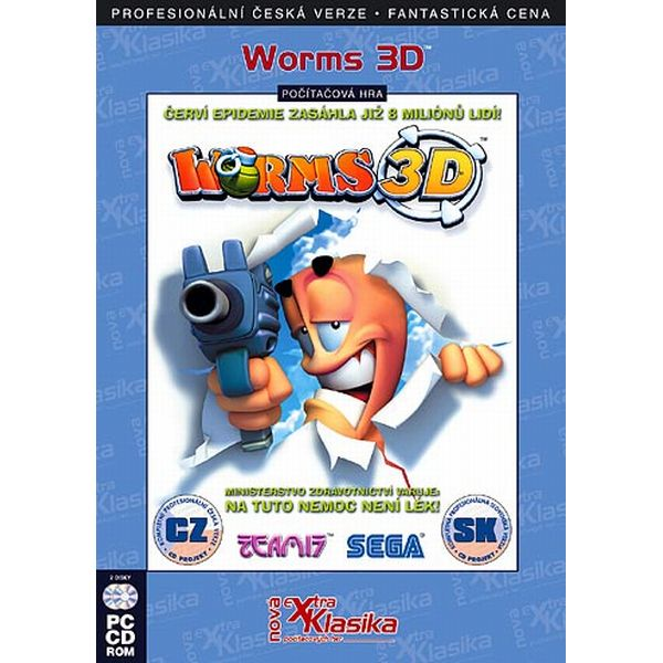 Worms 3D CZ