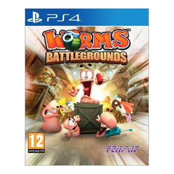 Worms Battlegrounds [PS4] - BAZ�R (pou�it� tovar)