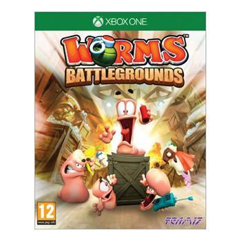 Worms Battlegrounds [XBOX ONE] - BAZÁR (použitý tovar)