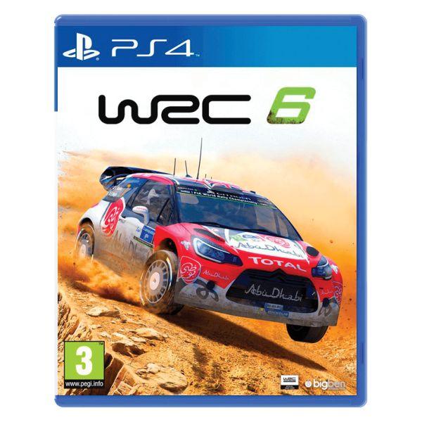 WRC 6 [PS4] - BAZÁR (použitý tovar)