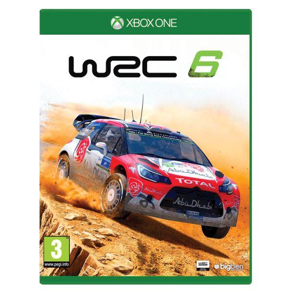 WRC 6 [XBOX ONE] - BAZÁR (použitý tovar)