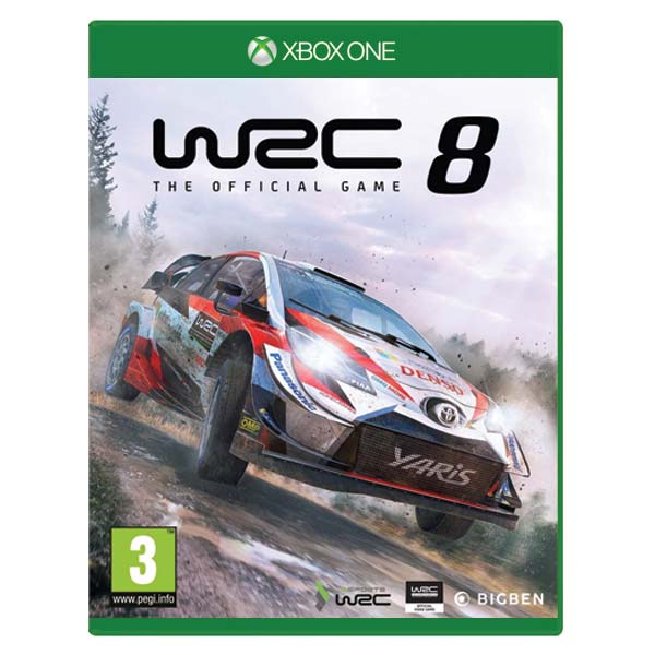 WRC 8: The Official Game XBOX ONE