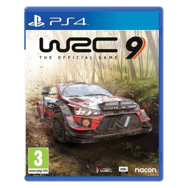 WRC 9: The Official Game [PS4] - BAZÁR (použitý tovar)