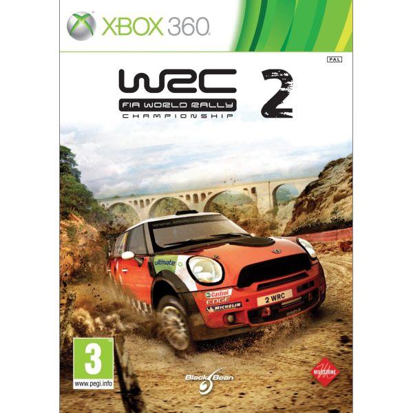 WRC: FIA World Rally Championship 2 - XBOX 360- BAZÁR (použitý tovar)