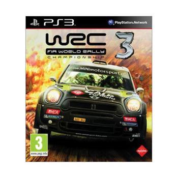 WRC: FIA World Rally Championship 3 [PS3] - BAZÁR (použitý tovar)