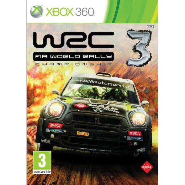WRC: FIA World Rally Championship 3 XBOX 360