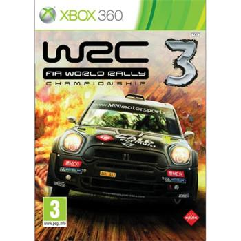 WRC: FIA World Rally Championship 3 - XBOX 360- BAZÁR (použitý tovar)