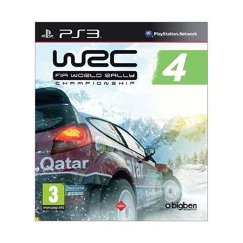 WRC: FIA World Rally Championship 4 [PS3] - BAZÁR (použitý tovar)