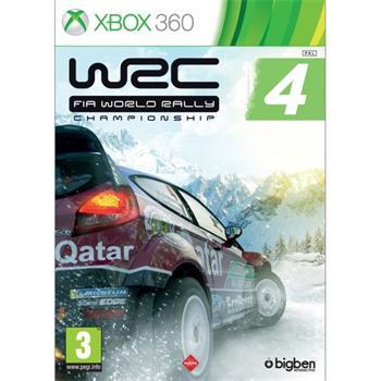 WRC: FIA World Rally Championship 4 [XBOX 360] - BAZÁR (použitý tovar)