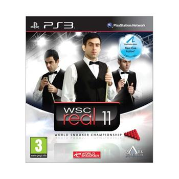 WSC Real 11: World Snooker Championship [PS3] - BAZ�R (pou�it� tovar)
