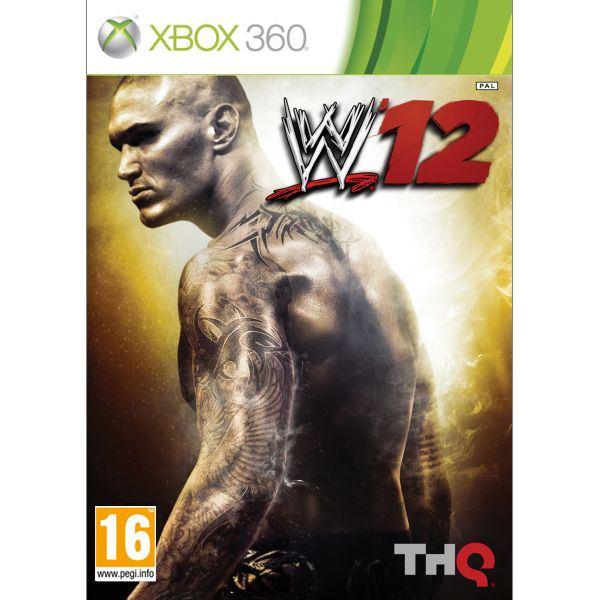 WWE '12 [XBOX 360] - BAZÁR (použitý tovar)