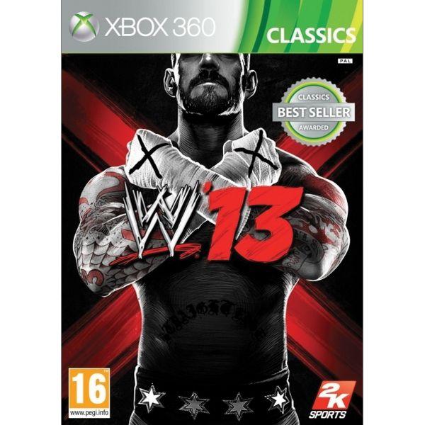 WWE '13 [XBOX 360] - BAZÁR (použitý tovar)