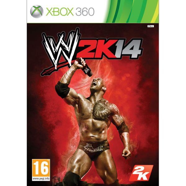 WWE 2K14 XBOX 360 - BAZÁR (použitý tovar)