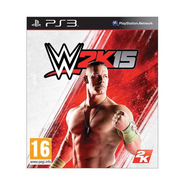 WWE 2K15 [PS3] - BAZÁR (použitý tovar)