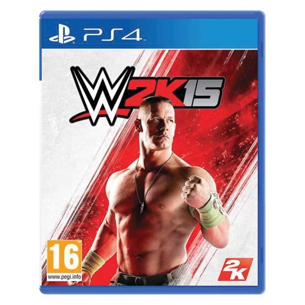 WWE 2K15 [PS4] - BAZÁR (použitý tovar)