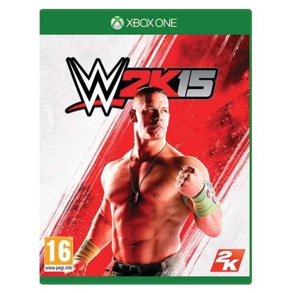 WWE 2K15 [XBOX ONE] - BAZÁR (použitý tovar)