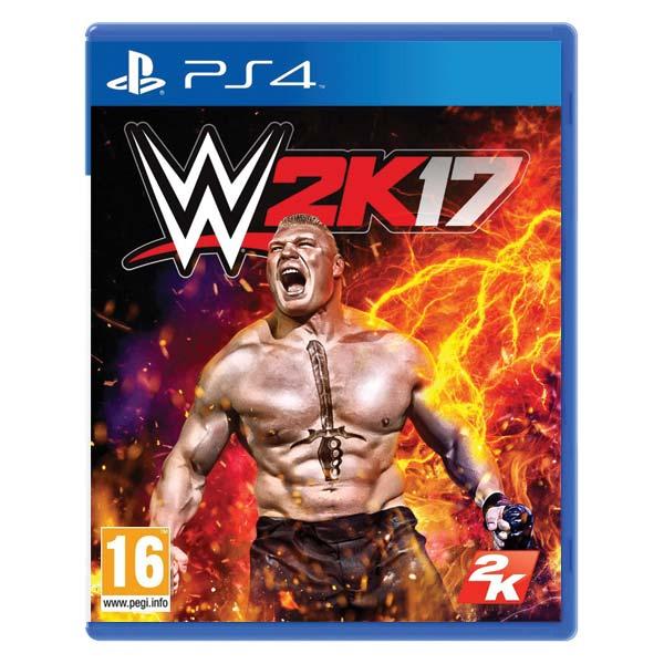 WWE 2K17 [PS4] - BAZÁR (použitý tovar)