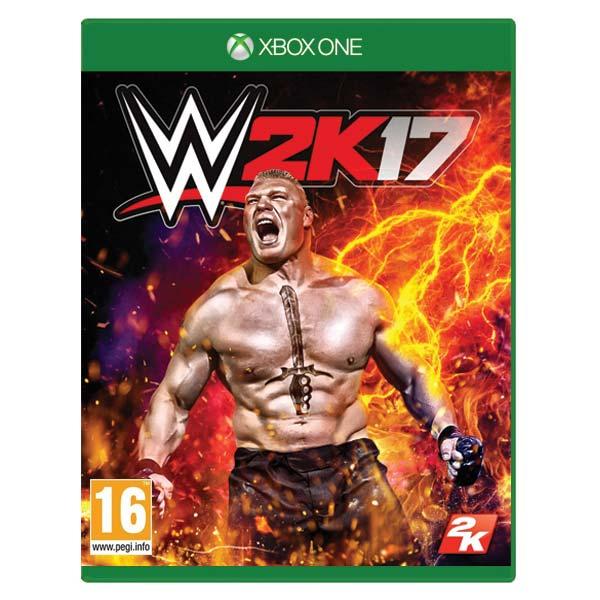 WWE 2K17 [XBOX ONE] - BAZÁR (použitý tovar)