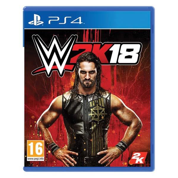 WWE 2K18 [PS4] - BAZÁR (použitý tovar)