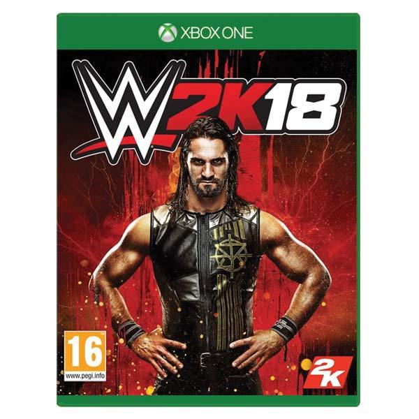 WWE 2K18 [XBOX ONE] - BAZÁR (použitý tovar)