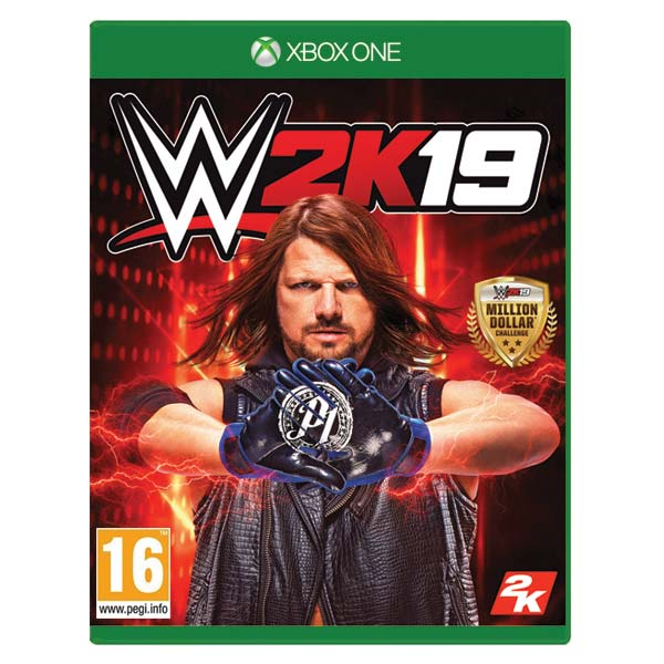 WWE 2K19 [XBOX ONE] - BAZÁR (použitý tovar)