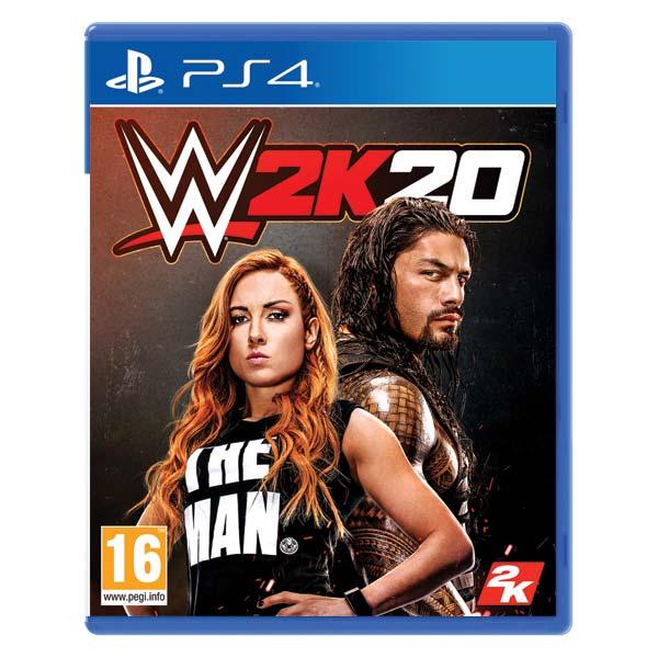 WWE 2K20 [PS4] - BAZÁR (použitý tovar)