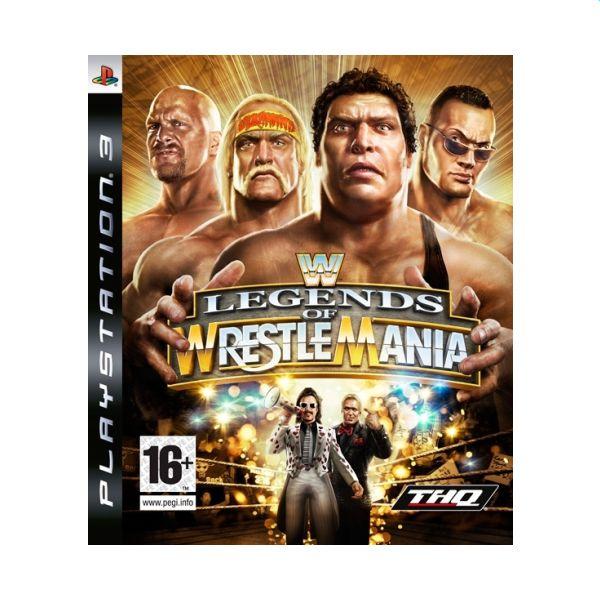 WWE Legends of WrestleMania [PS3] - BAZÁR (použitý tovar)
