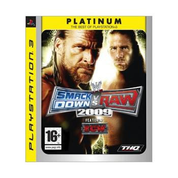 WWE SmackDown! vs. Raw 2009 [PS3] - BAZ�R (pou�it� tovar)