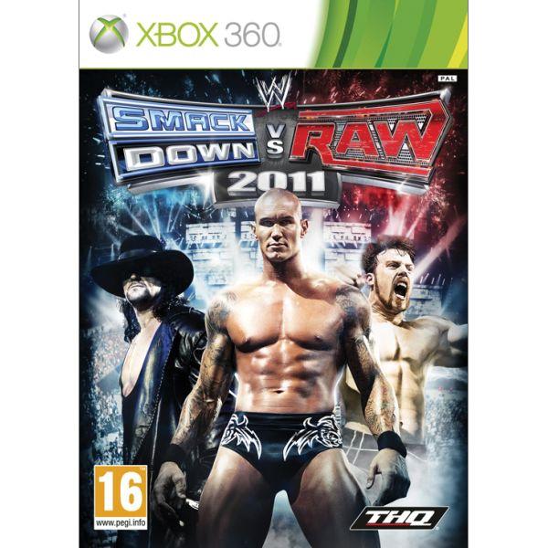 WWE SmackDown! vs. Raw 2011 [XBOX 360] - BAZÁR (použitý tovar)