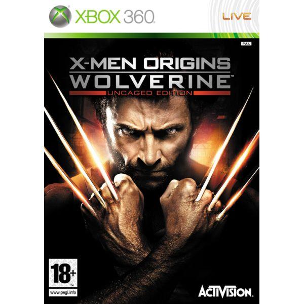 X-Men Origins: Wolverine (Uncaged Edition) [XBOX 360] - BAZÁR (použitý tovar)