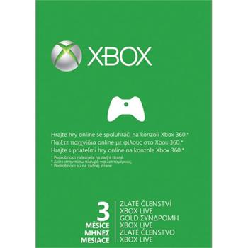 Xbox 360 Live GOLD 3 months card