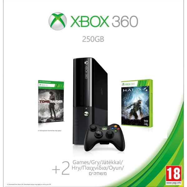 Xbox 360 Premium E 250GB (Holiday Value Bundle) N2V-00014