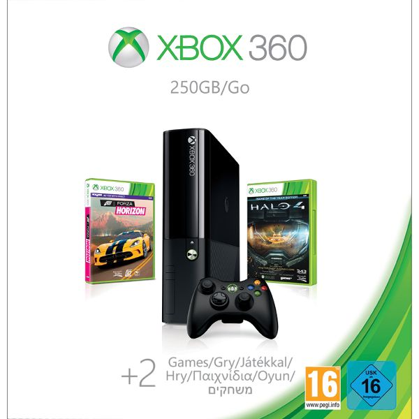 Xbox 360 Premium E 250GB (Spring Value Bundle) N2V-00119