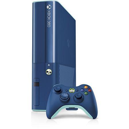 Xbox 360 Premium E 500GB blue - Použitý tovar, zmluvná záruka 12 mesiacov