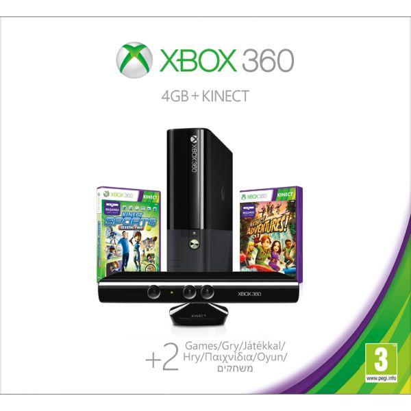 Xbox 360 Premium S Kinect Special Edition 4GB- XBOX 360- BAZÁR (použitý tovar)
