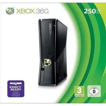 Xbox 360 Premium S 250GB - BAZÁR (použitý tovar , zmluvná záruka 12 mesiacov)