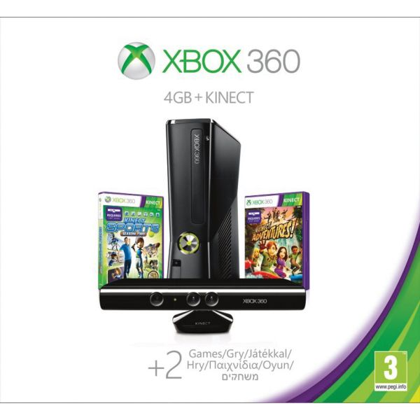 Xbox 360 Premium S Kinect Special Edition 4GB (Holiday Value Bundle) R9G-00086