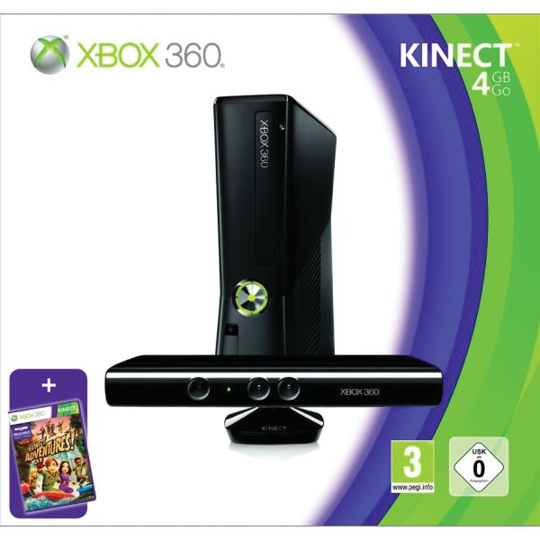 Xbox 360 Premium S Kinect Special Edition 4GB