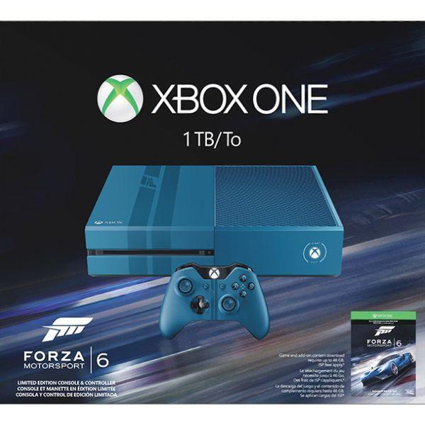 Xbox One 1TB (Forza Motorsport 6 Limited Edition) - BAZÁR (použitý tovar , zmluvná záruka 12 mesiacov)