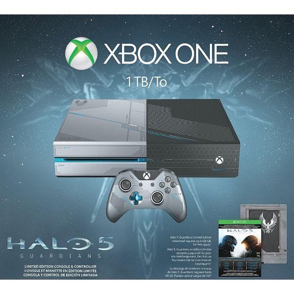 Xbox One 1TB (Halo 5: Guardians Limited Edition) - BAZÁR (použitý tovar , zmluvná záruka 12 mesiacov)