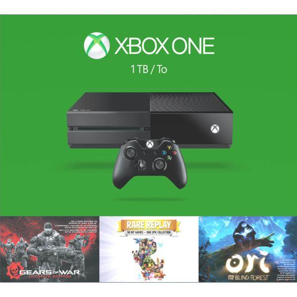 Xbox One 1TB (Holiday Bundle) - BAZÁR (použitý tovar , zmluvná záruka 24 mesiacov)